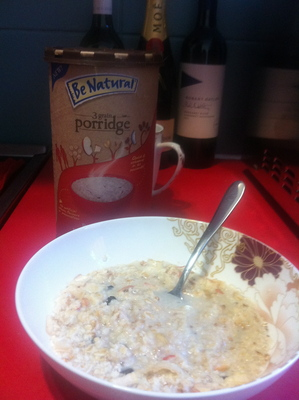 be natural, be natural 3 grain porridge, porridge