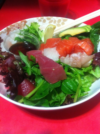 david jones foodhall, best take away sashimi in sydney, sashimi
