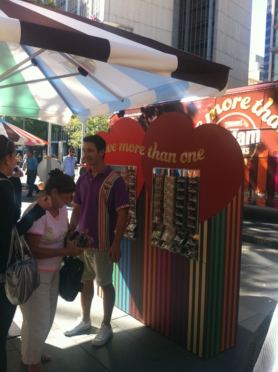 free food samples, free food, free food at circular quay sydney