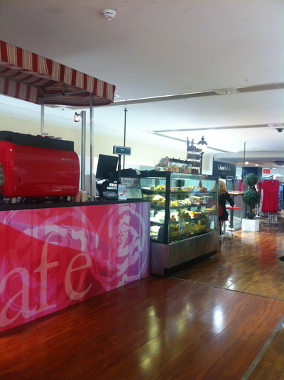 la rose cafe, la rosa cafe myers, myer sydney city