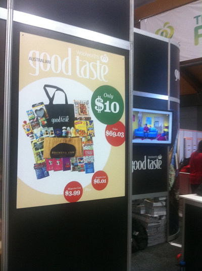 sydney royal easter show, showbags, food showbags, food